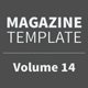 Magazine Template - Volume 14 - GraphicRiver Item for Sale