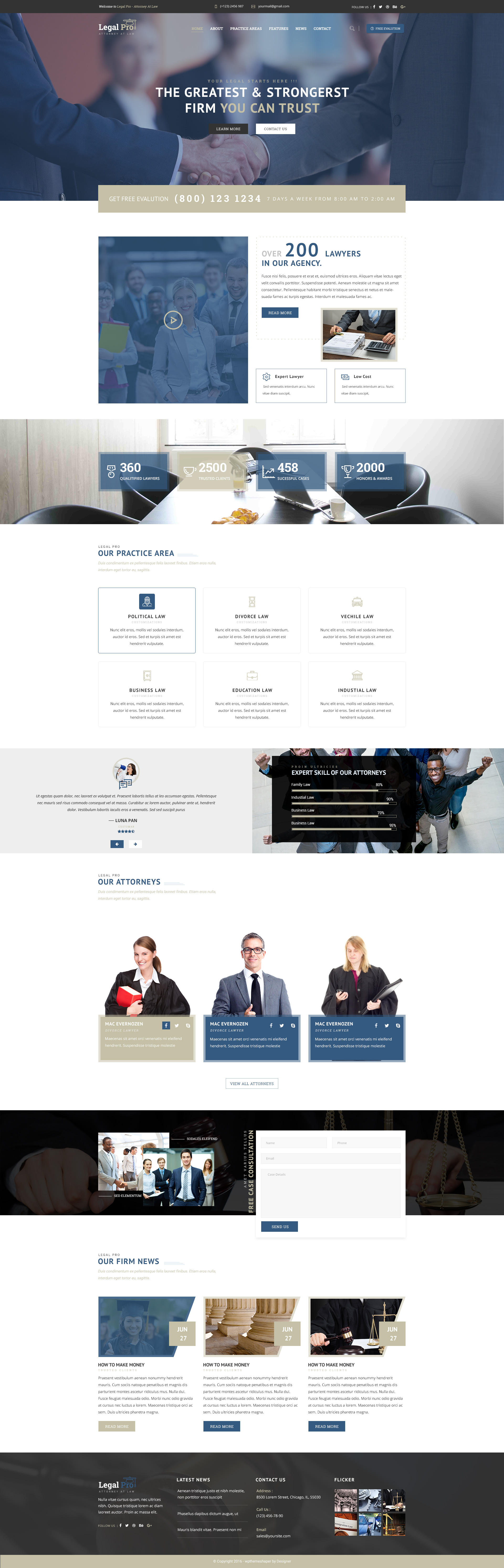 Legalpro psd template for law firm lawyer and attorney by legalpro psd template for law firm lawyer and attorney pronofoot35fo Choice Image