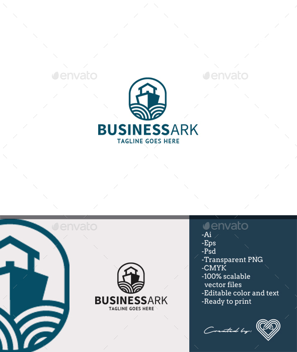Business Ark - Objects Logo Templates