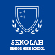 Sekolah - Senior High School Template PSD - ThemeForest Item for Sale