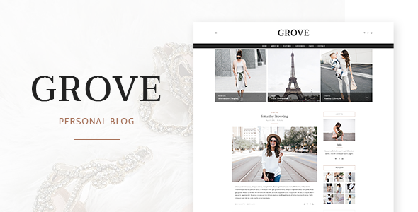 Grove – Personal Blog Template