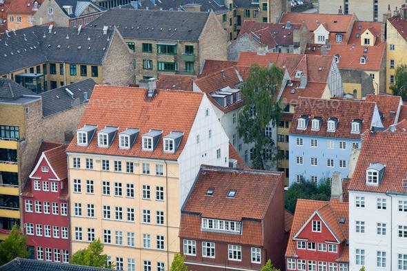 miniature Copenhagen, Denmark - Stock Photo - Images