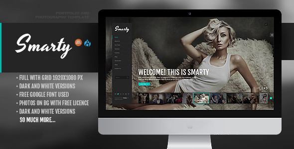 Smarty – Creative Agency & Portfolio Drupal 8 Theme with RTL