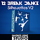 12 BreakDance Silhouettes Pack - VideoHive Item for Sale