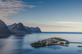 small town of Husoy, Senja Norway - PhotoDune Item for Sale