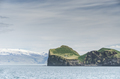 famous Ellidaey island with tiny house, Iceland - PhotoDune Item for Sale