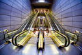 futuristic interior of metro station - PhotoDune Item for Sale