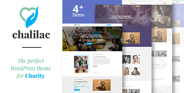 Chalilac – WordPress Charity Theme