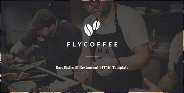 FlyCoffee - Bar and Restaurant HTML Template - Restaurants & Cafes Entertainment