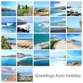 Collage mix with photos from holiday - PhotoDune Item for Sale