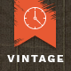 Vintage Waiting - Coming Soon HTML5 Template - ThemeForest Item for Sale