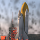 Launch the space shuttle in the mountains - 3DOcean Item for Sale