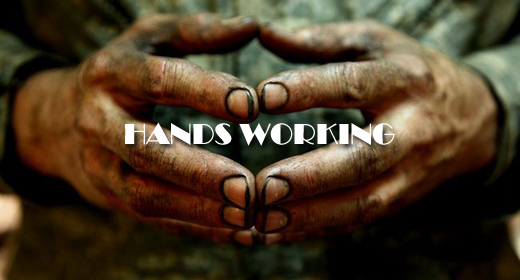 HANDS WORKING FOOTAGE COLLECTION
