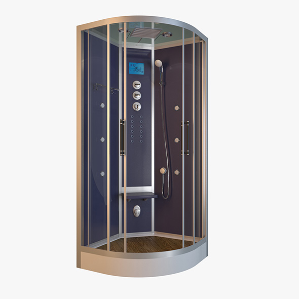 Shower Steam Cabine - 3DOcean Item for Sale