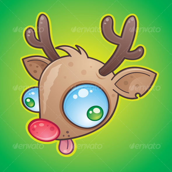 Rudolph The Red Nosed Reindeer - Animals Characters