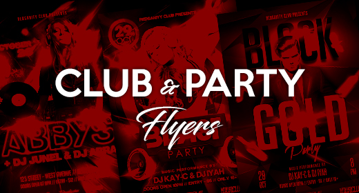 Recommended Club & Party Flyers