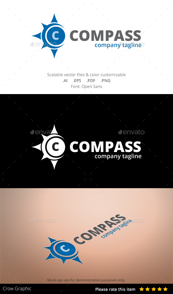 Compass - Abstract Logo Templates