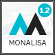 Monalisa - Creative Multipurpose WordPress Theme Nulled