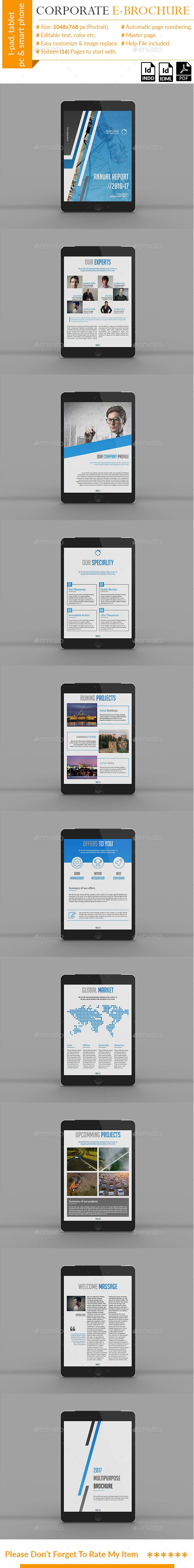 Corporate E-Brochure - Digital Books ePublishing