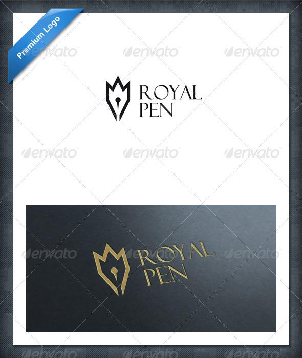 Royal Pen Logo Template - Objects Logo Templates