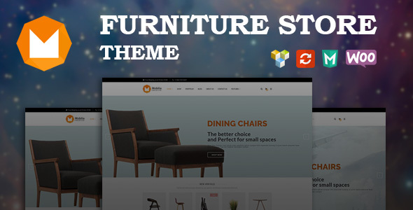 Mobilia – Furniture WooCommerce WordPress Theme