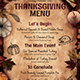 Thanksgiving Menu Template V2 - GraphicRiver Item for Sale