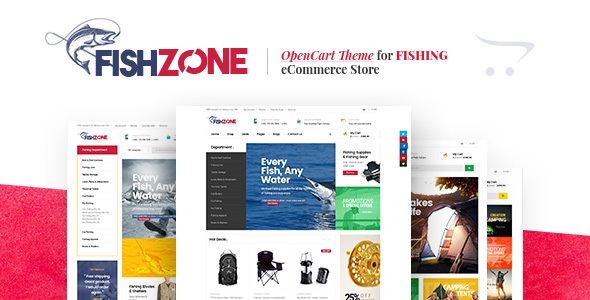 Lexus Fishzone – Multipurposes Opencart theme