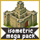2D Isometric Game Assets Bundle - Towers, Castles, Houses & more - GraphicRiver Item for Sale