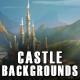 5 Castle 2D Game Backgrounds - Parallax and Stackable - GraphicRiver Item for Sale