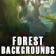 6 Forest 2D Game Backgrounds - Parallax and Stackable - GraphicRiver Item for Sale