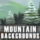 3 Mountain 2D Game Backgrounds - Parallax and Stackable - GraphicRiver Item for Sale