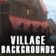 5 Village 2D Game Backgrounds - Parallax and Stackable - GraphicRiver Item for Sale
