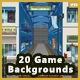 20 Anime Game Backgrounds Bundle Pack - Parallax & Stackable - GraphicRiver Item for Sale
