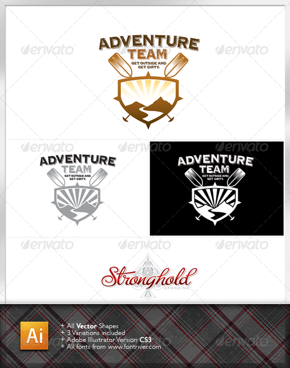Outdoor Adventure Logo Template - Crests Logo Templates