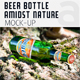 Beer Bottle Amidst Nature Mock-Up - GraphicRiver Item for Sale
