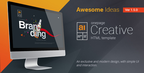 Awesome Ideas | Professional HTML Theme - Business Corporate