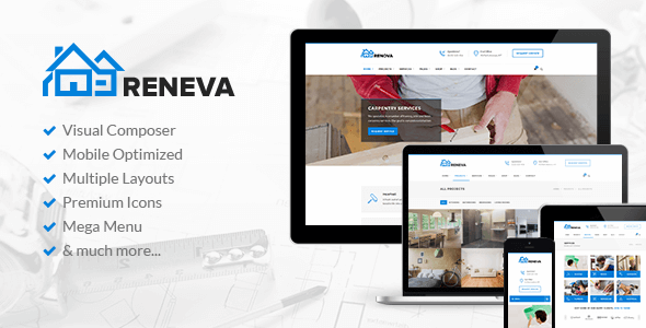 Reneva – Small Business WordPress Theme