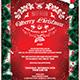 Christmas Invitation Template V6 - GraphicRiver Item for Sale
