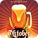 Oktoberfest Party Flyer - GraphicRiver Item for Sale