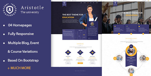 Aristotle Education - Education HTML Template
