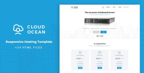 CloudOcean – Responsive Hosting Template