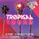 Tropical Sound CD Cover Template - GraphicRiver Item for Sale