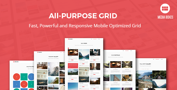 Media Boxes Portfolio - Responsive jQuery Grid Plugin - CodeCanyon Item for Sale