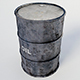Metallic Barrels - 3DOcean Item for Sale