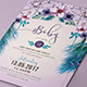 Feather Invitation (Wedding-Graphicriver中文最全的素材分享平台