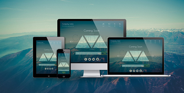 Silence — Coming Soon HTML5 Template - Under Construction Specialty Pages