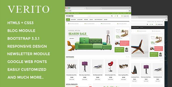 Verito – Responsive OpenCart Theme