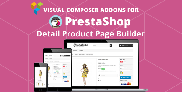 Prestashop Product Page Builder Visual Composer Addons - CodeCanyon Item for Sale