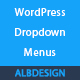 Wordpress menu dropdown