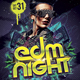 EDM Night Flyers Template - GraphicRiver Item for Sale